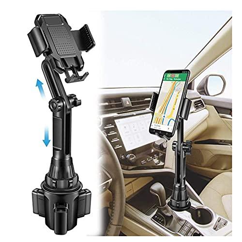 JINHU Soporte para Automóvil Soporte Universal Ajustable para Teléfonos Inteligentes Puede Garantizar Una Conducción Segura Independientemente De La Navegación O Escuchar Música (Negro)
