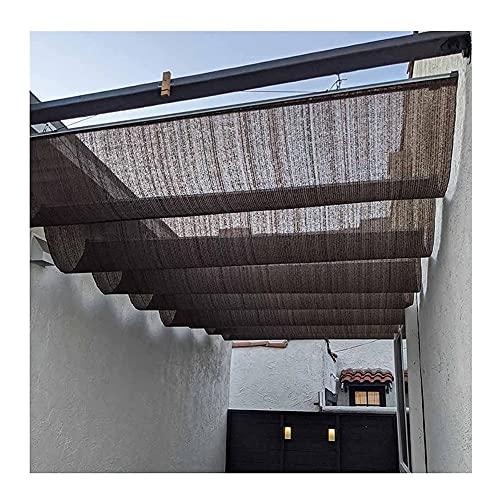 YJFENG Pérgola Marquesina De Techo Kits, Retráctil Vela De Sombra Solar, Protector Solar Permeable Onda Techo Abatible Exterior Patio Toldos Respirable Protector Solar para Cubierta Cochera