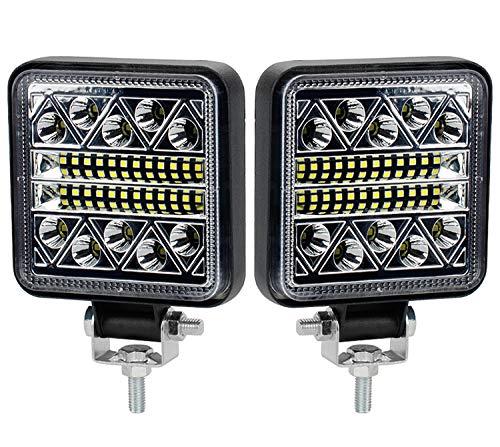 102W Phare de Travail à LED 15000LM Feux de Recul Led 12v, Phare Led Projecteurs pour voiture, tracteur bateau, 12-24v camion