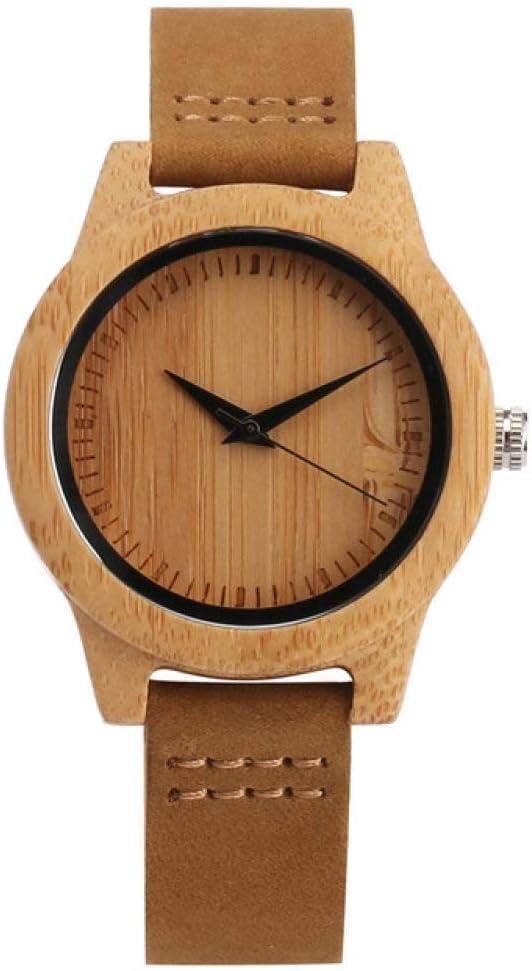 Men's Watches Max 49% OFF price Top Brand Luxury Men Wrist Bamboo Women Watch Wood