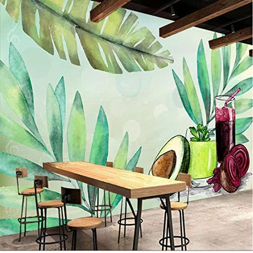 Dalxsh met de hand beschilderd fruit en plantaardige voeding saus thee restaurant gereedschap muur aangepaste grote muurbehang 200 x 140 cm.