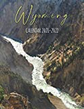 Wyoming Calendar 2021-2022: Special Landscape Calendar & Planner