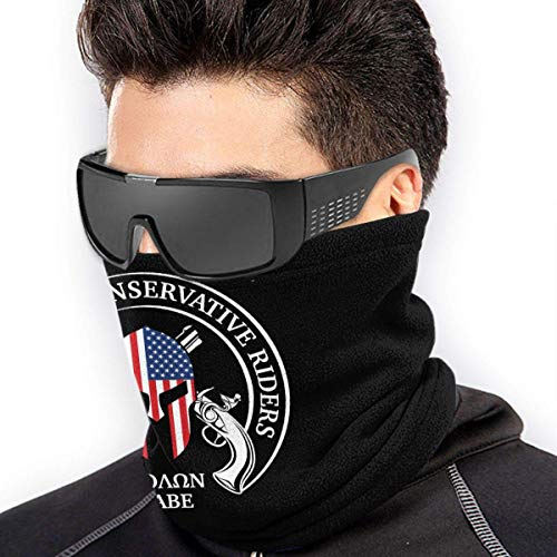 ShiHaiYunBai Halstuch/Kopftuch Come And Take Them Molon Labe Soft Neck Warmer Gaiter Face Protective Scarf Balaclavas Unisex