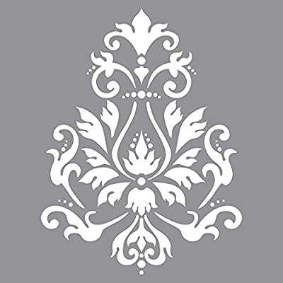 Plantilla c; motivo de brocado 30, 5x30, 5cm, bolsa 1pieza Talla/Tamaño: 30.5 x 30.5 cm