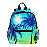 XiangHeFu Mochila pequeña para niñas niño al aire libre a pie bolsa de viaje mochila escolar lado...