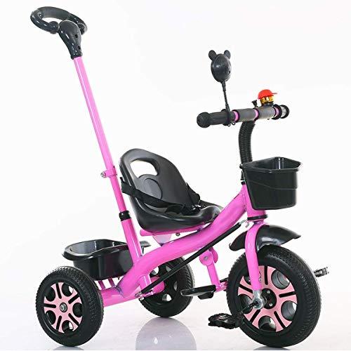 1-3 años de edad, tres-en-uno de tres ruedas de bicicleta ronda del triciclo de niños de 3 de los niños de alquiler de los niños y niñas infantiles equilibrio de la bicicleta del triciclo del bebé de