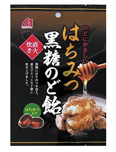 桃太郎製菓 はちみつ黒糖のど飴 80g×12袋 たっぷり12袋入り!