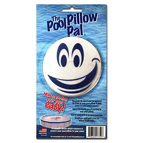 The Pool Pillow Pal Above Ground Winter Pool Pillow Centering Accessory