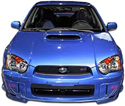 Extreme Dimensions Duraflex Replacement for 2004-2005 Subaru Impreza WRX STI STI Look Front Bumper Cover - 1 Piece