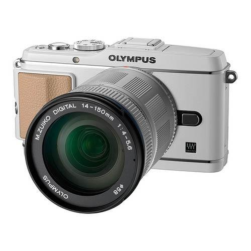 "Olympus E-P3 - Cámara Digital (12.3 MP, SLR Kit, 4/3"", 14-150 mm, 5.6, 58 mm) Color Blanco"