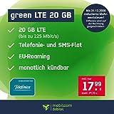 Mobilfunktarif für Ihr Handy mit einer Laufzeit von 1 Monat (ab dem 25. Monat 29, 99 EUR mtl. ) Allnet Flat in alle dt. Netze telefonieren & SMS schreiben (ausgenommen Service- und Sonderrufnummern, sowie Anrufumleitungen) 20 GB Internet-Flat mit max...
