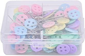 Pins & Pincushions - 100pcs/box Mixed Colors Sewing Patchwork Pins Flower Head Pins Sewing Tool Needle Arts