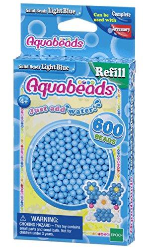 Aquabeads 32558 Hellblaue Perlen - Nachfüllset