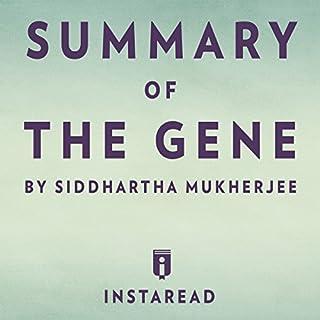 Summary of The Gene by Siddhartha Mukherjee | Includes Analysis audiobook cover art