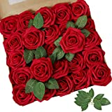 AmyHomie Artificial Flower 50pcs Real Looking...