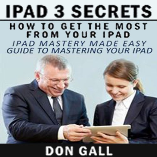 iPad 3 Secrets audiobook cover art