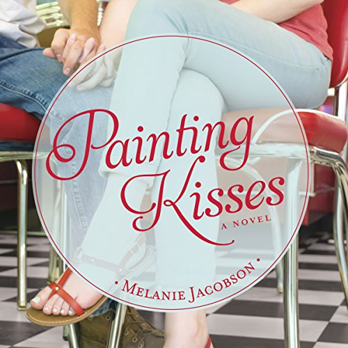 Painting Kisses audiobook cover art