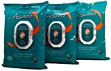 Assurance Premium Pre-moistened Disposable Washcloths, Extra Large, 48ct, Multipack of 3 (144 Wipes Total)