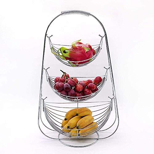 Corbeille a Fruit Porte fruits Bol de fruits de style moderne Bol à niveaux de bol de fruits de bol de bol for la collation de gâteau aux fruits 29 x 35.5cm Zheng