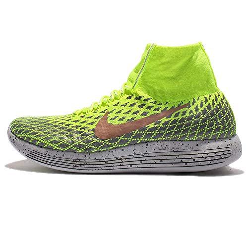 Nike Lunarepic Flyknit Shield Mens Running Trainers 849664 Sneakers Shoes (UK 6.5 US 7.5 EU 40.5, Volt Metallic Bronze 700)