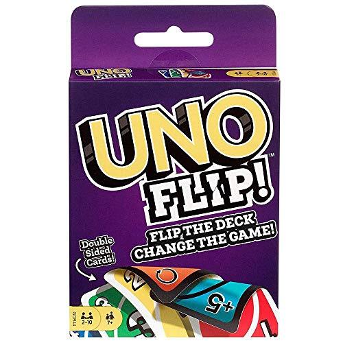 Mattel Games GDR44 - UNO FLIP, Kartenspiele ab 7 Jahren