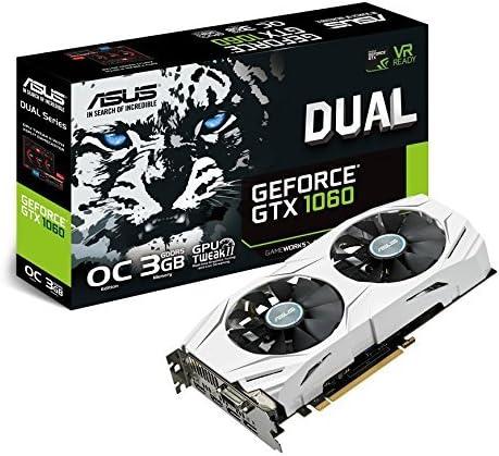 ASUS GTX 1060 DUAL 3 GB
