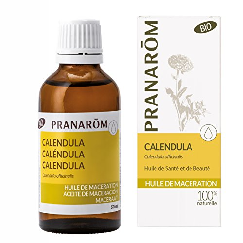 Pranarôm - Huile Végétale Calendula Bio - Calendula Officinalis - Extrait lipidique titré de fleurs de Calendula - 50 ml