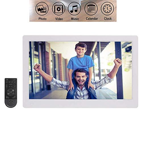 IW.HLMF Marco de Fotos Digital 15.6 Pulgadas, 1920X1080 Pantalla IPS Full HD con Control Remoto y función de Calendario Soporte para Foto/música/Reproductor de Video Regalo