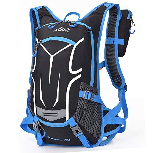 Seelast mochila para bicicleta [18L], ligera para deportes al aire libre, senderismo,...