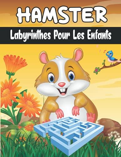HAMSTER Labyrinthes Pour Les Enfants: 50 LABYRINTHES POUR ENFANTS, Livre de labyrinthes pour garçons et filles, Un cahier d\'exercices amusant pour les enfants