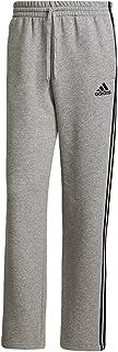 Men's Essentials Fleece Open Hem 3-Stripes Pants