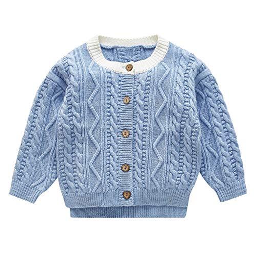 Bascar Baby Kleidung Gestrickte Pullover Crewneck Daunenpullover Jacke Strickoberteile Strickjacke Pullover Outfit