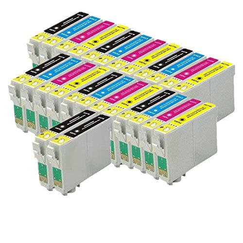 26ECS Compatible cartucho de tinta reemplazar T1295para impresoras Epson Stylus SX230SX235W SX420W SX425W SX435W SX440SX445W SX525WD SX535WD SX620FW, OFICINA B42WD, BX305F, BX305FW, BX305FW Plus, BX320FW, BX525WD, BX535WD BX625FWD BX635FWD BX925FWD BX935FWD, WorkForce wf7015, Wf7515, Wf7525