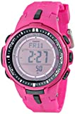 Casio Men's PRW-3000-4BCR Pro Trek Digital Display Quartz Pink Watch