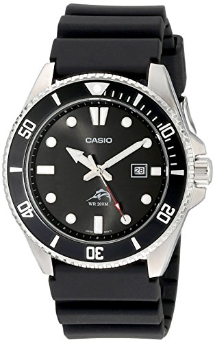 Casio Men's Analog Anti Reverse Bezel Watch