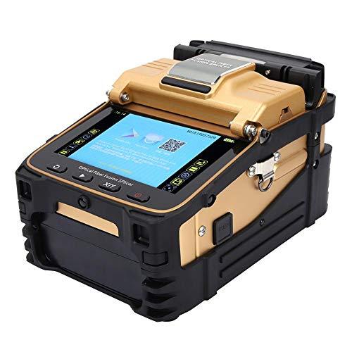 Fusion Splicer, Máquina de empalme de soldadura de fibra óptica Kit de empalme de fibra...