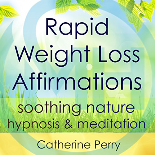 Rapid Weight Loss Affirmations audiobook cover art