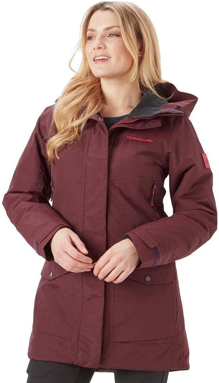 Didriksons Tanja Parka Jacket  Womens  Waterproof  Windproof Season