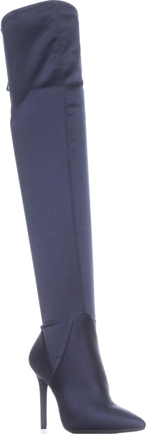 Jessica Simpson Lessy Over-The-Knee Pull On Boots, Midnight, 7 US   37 EU