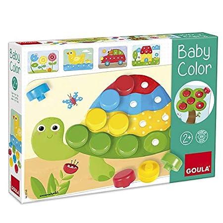 Jumbo Spiele D53140 GOULA - Baby Color - Holzspiel für Kleinkinder - Ab 2 Jahren