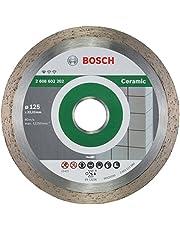 Bosch Professional Diamantdoorslijpschijf Standard for Ceramic keramische tegels voor haakse slijpers (Ø 125 mm)