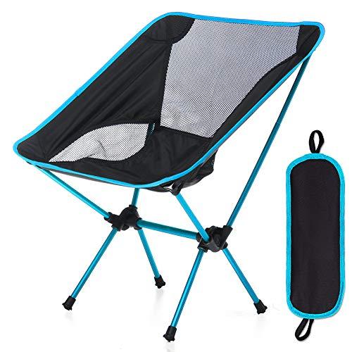 YKLWORLD アウトドアチェア キャンプ椅子 折りたたみ イス より安定 超軽量 収納袋付き 携帯便利 コンパクト 組み立て簡単 ハイキング お釣り 登山 耐荷重150kg