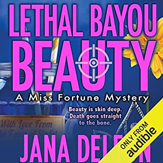 Lethal Bayou Beauty audiobook cover art
