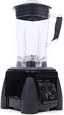 HarBin-Star 2200W Smoothie Blender Maker, Commercial 2L Fruit Juicer Mixer Ice Crusher BPA 3HP Heavy Duty Power Juicer Grinding Machine