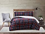 Truly Soft Everyday Truly Soft Cuddle Warmth Comforter Set, Twin XL, Red & Blue