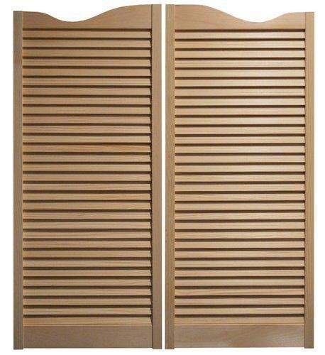 Cafe Doors Premade for any porte apertura fino a 81,3cm (altezza 106,7cm): * Quick Shipping * Cafe Doors include all necessario Hardware–altre dimensioni berlina Swing bar pub Swinging Swing Door