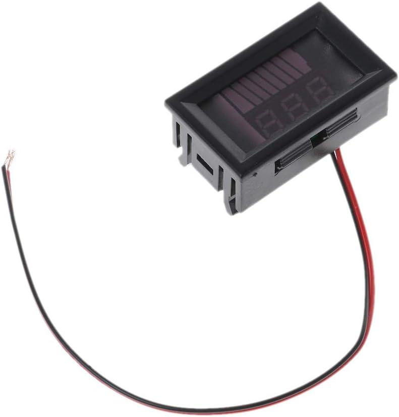 DC 12V-72V Lead-acid Digital Battery Capacity Indicator - Charge Voltmeter Tester By Beinil