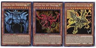 50 Assorted Yu-Gi-Oh Cards! (All 3 GOD Cards Guaranteed) with RARES Guaranteed!!