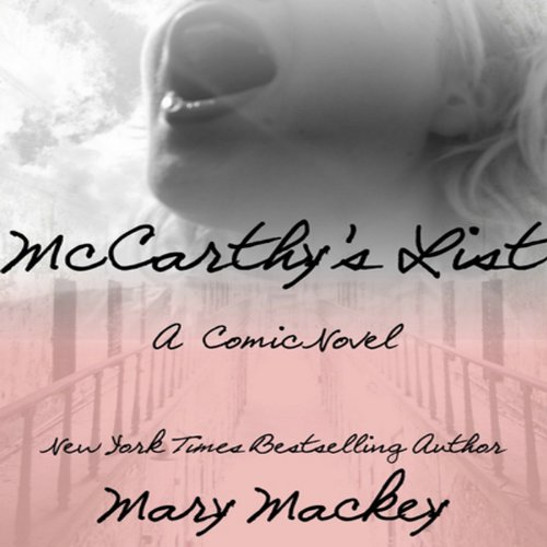 McCarthy's List audiobook cover art