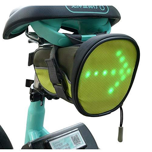 FANCYWING Saddle Bag with LED Light Indicators
